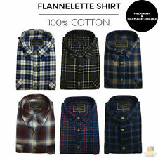 Regular Fit Button-Front 100% Cotton Casual Shirts for Men