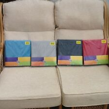 Colour Match Packs of Plain Duvet Cover Bedding Sets with Pillowcases Brand New