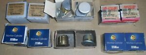 Lot of 10 American & Ilco Lock Mortise Cylinder 1 & 1-1/8 Inch NOS & Used W/Keys