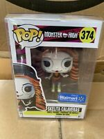 Funko Pop! Skelita Calaveras Monster High Walmart Exclusive *Vaulted *Protector
