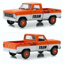 1/24 Greenlight Ford F-100 Truck 1967 Fram Oil Filters New Free Shipping Home