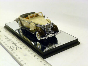 PM43705 Signature Models 1:43 Maybach SW 38 Sportcabriolet creme kaffee 1937