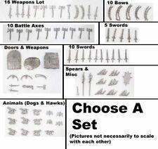 Dark Horse 25mm Metal Miniature Weapons & Accessories - Choose A Set