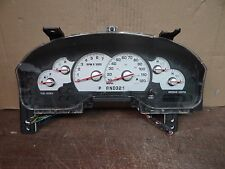 (CL1678) 2002 MERCURY MOUNTAINEER SPEEDOMETER CLUSTER *TESTED 154K 1L2F-10849-JF