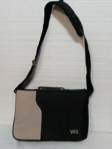Official Nintendo Wii Console Travel Storage Carry Case Messenger Shoulder Bag