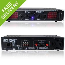 Skytec SPL-1000BT Bluetooth Home Audio Amplifier House Party Hi-Fi EQ Amp 1000W