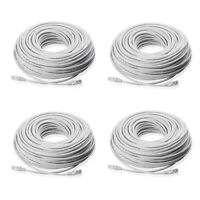 4-Pack 150FT CAT5 Cat5e Ethernet Cable RJ45 Network Wire Router PoE Switch Cord