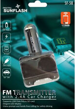 Digital Sunflash FM Transmitter with 2.4 Car Charger SF-58