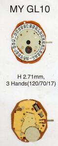 Miyota GL00 GL10 GL15 GL20 GL30 GL32  watch quartz battery movement complete