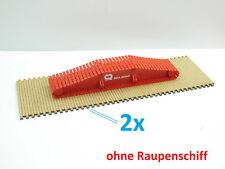 1:87 EM4497 Baggermatten Platten 4Stk für Herpa LR1600 Echtholz Umbau Eigenbau