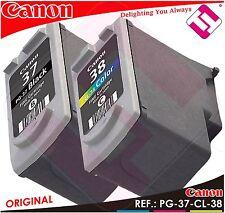 Multi paquete tinta Pg-37/cl-38 canon original 2145b009aa