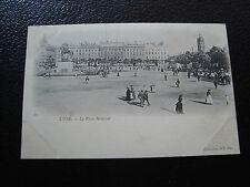 FRANCE - carte postale lyon (la place bellecour) (cy68) french