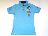 NAPAPIJRI Polo Shirt Casual Classic Blue Size M Medium