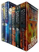 Magnus Chase and Trials of Apollo Series Rick Riordan 6 Books Collection Set NEW