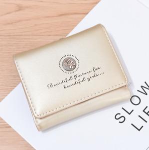Women's Wallet Luxury Coin Purse Card Holder Small Female Mini Clutch Zip Pocket