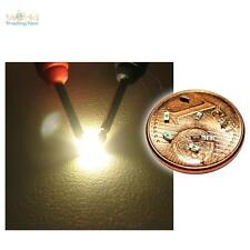 10 SMD LED White 0603 warmweiss Golden SMT Weiss Super