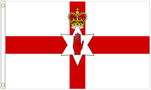 Northern Ireland Polyester Flag - Choice of Sizes