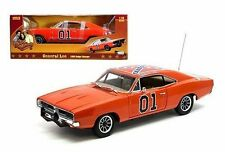 AUTO WORLD 1:18 Dukes of Hazzard 1969 DODGE CHARGER GENERAL LEE Diecast Car
