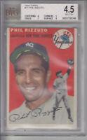 1954 Topps #17 Phil Rizzuto Yankees BVG 4.5 VG-EX+ Z10017 - BVG VgEx+ (4.5)