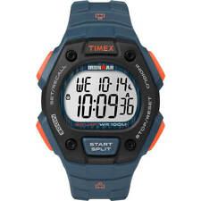 Timex Men's Watch Ironman Classic 30 Lap Digital Dial Blue Strap TW5M09600