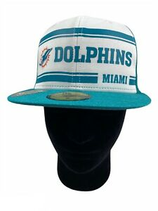 C127 Miami Dolphins New Era 59FIFTY OnField Fitted Cap 7