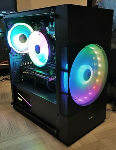 Pc gaming RGB 16core RTX2060 32go DDR4 128go Nvme gen3+Hdd1to
