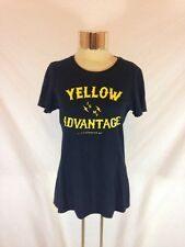 "Women's Black Nike Slim Fit ""Yellow Is My Advantage"" Livestrong Tshirt - Size L"