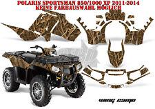 AMR Racing DECORO GRAPHIC KIT ATV POLARIS SPORTSMAN modelli Wing CAMO B