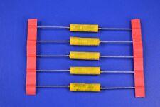 (5) 0.022 uF MFD 2KV 2000VDC 5% Axial Capacitors Precision Timing & Oscillation