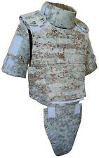 Body Armor Plate Carrier Vest MOLLE Pencott SnowDrift