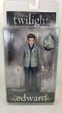 "2008 NECA Twilight Edward Cullen 7"" Action Figure w/ Crest Reel Toys - Box Wear"