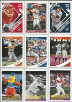 2018 Donruss Baseball Base Set Diamond Kings Rookies Singles Pick Card Build lot