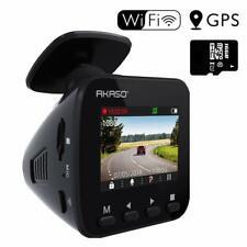 AKASO Caméra Voiture Embarquée Conduite Enregistreur WiFi Dash Cam 1296P Full HD