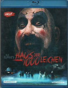 Rob Zombies - House of 1000 Corpses - Blu Ray Disc..Uncut Version.