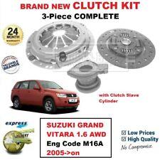 FOR SUZUKI GRAND VITARA 1.6 AWD Eng Code M16A 2005->on NEW 3PC CLUTCH KIT + CSC