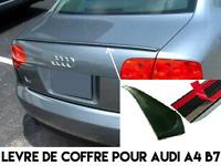 SPOILER BECQUET LEVRE AILERON LAME COFFRE pour AUDI A4 B7 04-08 sline quattro S4
