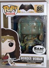 DC Funko Pop Bam Exclusive Batman v Superman Wonder Woman #86 Patina Figure