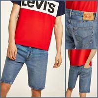 LEVIS 501 Mens Shorts | Blue Denim | Size 32 | £45 BNWT | Brand New | Summer!