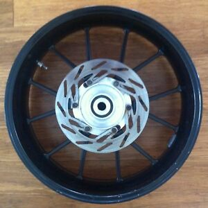 Used KTM 640 Duke II rear wheel black 1999-2004