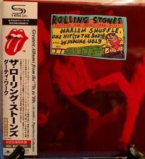 THE ROLLING STONES HARLEM SHUFFLE JAPAN SHM MINI LP CD NEW