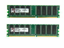 Mémoires RAM DDR SDRAM Kingston avec 2 modules
