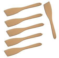 6 x Pfannenwender Pfannenheber Bratenwender Buche 30 cm Holzschaber