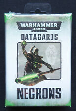 Warhammer 40k Necrons Datacards Sealed MISB Citadel Games Workshop OOP