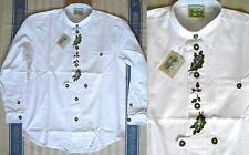 37-38 Maschinenwäsche Herren-Trachtenhemden aus Baumwolle