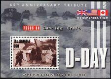 WWII D-DAY GOLD BEACH 47 Commando Royal Marines Landing Craft Assault LCA Stamp