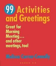 99 Activities and Greetings : Great for Morning Meeting... TEACHER MATERIALS