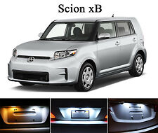 Xenon White License Plate / Tag 168 LED light bulbs for Scion xB (2Pcs)