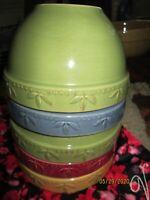 "SORRENTO 6"" Stoneware Bowl Signature Housewares Debby Segura 2001 ✔✔Choose Color"