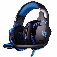 3.5mm Gaming Headset Mic LED envolvente de los auriculares para PC Mac Laptop PS4 Xbox One
