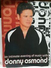 Donny Osmond - 2005 Concert Tour Program Book - Mint Condition